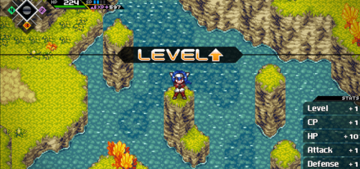 CrossCode-Level-up